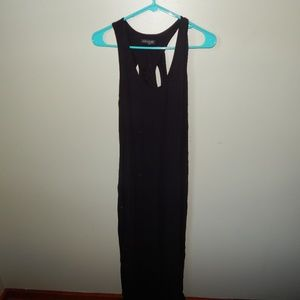 Venus Black Maxi Dress Small